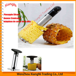 stainless steel peeler NZ - 1pc Hot Sale Stainless Corers Steel Fruit Vegetable Cooking Tools Pineapple Slicers Peeler Cutter Parer Knife Kitchen Easy order<$18no track