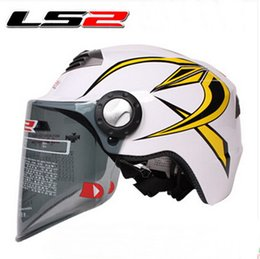 $enCountryForm.capitalKeyWord Canada - 2015 new LS2 summer half face ls2 OF128 Motorcycle helmet Electric bicycle helmets Adjustable size Made of ABS for Men and women