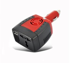 laptop car dc power adapter 2019 - 150W 12V DC to 220V 110V AC Car Power inverter USB Plug converter charger For cellphone phone Samsung iphone laptop adap