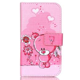 $enCountryForm.capitalKeyWord UK - Lovely Cute Cartoon Animal Owl Elephant Pug Flower Wallet Cover for Samsung Galaxy J2 SM-J200F with Card Holder Phone Case