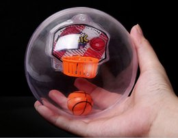 New Crazy Toys NZ - New Arrival LED Music Handheld Basketball Palm Basketball Player Fidget Basketball Electronic Hand Crazy Basketballs Decompression Toy