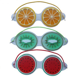 GoGGles pad online shopping - Gel Eye Mask Cold Pack Cool Goggles Fatigue Tired Eyes Headache Pads Skin Care