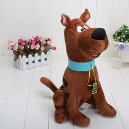 """Discount scooby toy High Quality Soft Plush Cute Scooby Doo Dog Dolls Stuffed Toy New 13"""" Wholesale and Retail"""