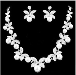 Pearl Necklace Earrings Set Cheap Canada Best Selling Pearl