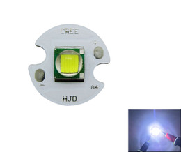 Cree XM-L T6 Led Chip Light 6500K / Blanco cálido 3200K 12MM / 14MM Color Color PCB Board 100pcs / lot