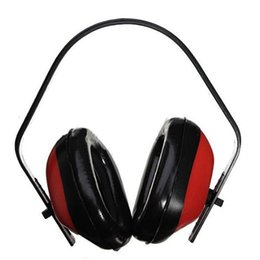 Chinese  Wholesale-1PC High Quality Adjustable Headstrap Ear Muff Earmuffs For Shooting Hunting Noise Reduction Noise Hearing Protector Muffler manufacturers