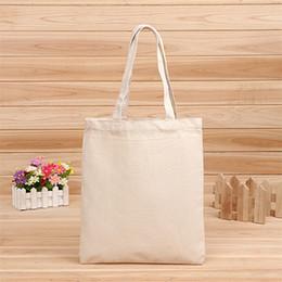 Leere Muster Leinwand Einkaufstaschen Eco wiederverwendbare Faltbare Schultertasche Handtasche Tote Baumwolle Einkaufstasche Großhandel benutzerdefinierte LZ0650 im Angebot