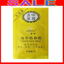 Barato Atacado Limpo Herbal-Atacado-500pcs transporte gratuito cravos Herbal LIMPO Remover NOSE Pore Máscara