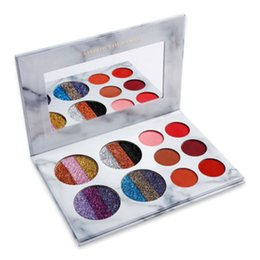 Chinese  Hot!!! Glitter Naked Rainbow Your Eyes Glitter and Matte 10 color Eyeshadow Palette Eye Shadows DHL shipping manufacturers