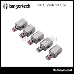 Vertical organic cotton coils kanger online shopping - Huge Stock Original Upgraded Kanger Vertical OCC Coil Organic Cotton Coil ohm for Subtank Mini Plus Nano Subox Mini Nano Kit