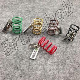 $enCountryForm.capitalKeyWord Canada - Gift packaging TEIN Adjustable Coilover Shock Absorber Spring Damper tuning keychain keyring keyfob key chain 5 colors