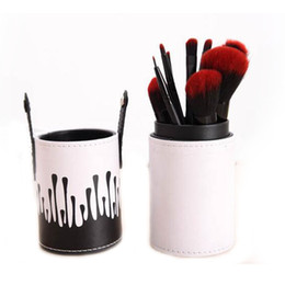 Light kits brands online shopping - Brand Mostarsea Rose Make Up Brush Set Brushes Kit Pinceis Maquiagem Pincel Pinceaux Maquillage Leather Brush Holder