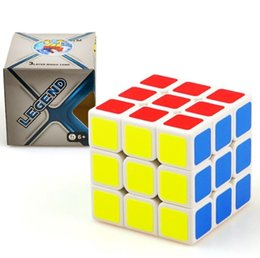 Chinese  Magic Cube Professional Speed Puzzle Cube Twist Toys 3x3 Classic Puzzle Magic Toys Adult and Children Educational Toys DHL free manufacturers