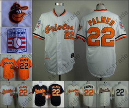 hot sale online 1daa2 c10a6 mens baltimore orioles 22 jim palmer 1970 hall of fame white ...
