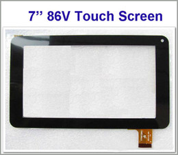 Touch Screen 86v NZ - Brand New Touch Screen Display Glass Digitizer Digitiser Panel Replacement For 7 Inch 86V Phone Call A13 A23 Tablet PC Repair Part Retail