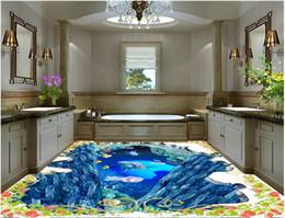 $enCountryForm.capitalKeyWord UK - Painting PVC wallpaper Underwater world floor background wall painting vinyl flooring