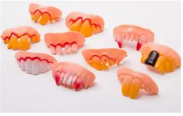 $enCountryForm.capitalKeyWord NZ - Joke Teeth False Teeth Rotten April Fool's Day Funny Fake Teeth Dentures Halloween Prop Costume Fancy Dress Party