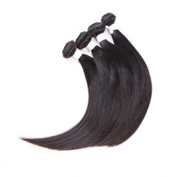 Peruvian remy hair styles online shopping - ELIBESS HAIR Grade A High quality Hair g per bundle bundles Popular Style percent remy straight wave human hair free DHL