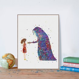 Painting Faces Australia - Watercolor Anime Miyazaki Spirited Away No Face Modern Canvas A4 Art Print Poster Wall Picture Kids Room Decor Painting No Frame