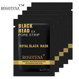 $enCountryForm.capitalKeyWord NZ - 30pcs lot ROSOTENA Black Head Mask Face Care Facial Blackhead Remover Nose Acne Treatments Deep Cleansing Mineral Mud EX Pore Strips Cleaner