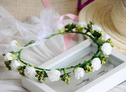 $enCountryForm.capitalKeyWord Canada - Free shipping single-deck artificial hand flower garland silk flower party decoration for wedding christmas and house decoration etc