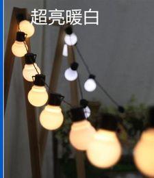 $enCountryForm.capitalKeyWord NZ - Outdoor patio decorating their wedding celebration party decoration 10M ball steep light waterproof 38LED lights series