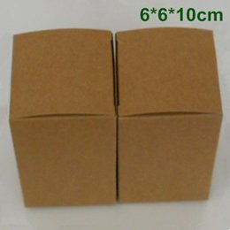 $enCountryForm.capitalKeyWord Canada - 6*6*10cm Kraft Paper Box Gift Packaging Box for Jewelry Ornaments Perfume Essential Oil Cosmetic Bottle Wedding Candy Tea DIY Soap Packing