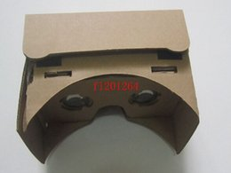 "China 50pcsDHL Free Shippig DIY Magnet Google Cardboard Virtual Reality VR Mobile Phone 3D Viewing Glasses For 5.0"" Screen Google VR 3D Glasses supplier free google cardboard suppliers"