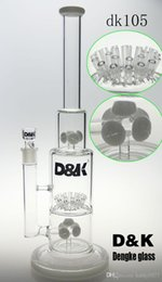 "$enCountryForm.capitalKeyWord Canada - DK brand Bigest glass bong percolator jm perk with 24 arm perk 18""inches Best quality tobacco pipe glass bong"