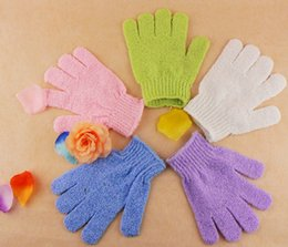 2016 new Bathroom Accessories Factory price 100 Pcs Exfoliating Bath Glove  Five fingers Bath Gloves free shiippingPrice New Bathroom Online   Price For New Bathroom for Sale. New Bathroom Fitted Price. Home Design Ideas