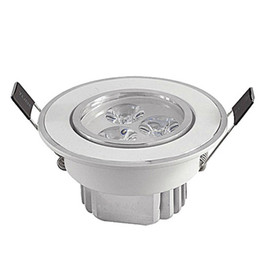 Ceiling Spotlight Bulbs UK - Led Ceiling Lamp 3X3W Led Bulb Dimmable 110v 220v LED spot lighting bulb led down light downlight spotlight with led drive