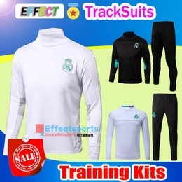 Chaquetas Baratos-2017 AC Marsella Trajes de Entrenamiento 17 18 LYON Real Madrid RONALDO MESSI kits Tracksuit Camisetas de Futbol Chandal Survetement Jacket Camisetas