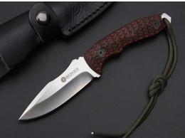 Discount boker knives - new boker Platyceps D2 blade 59-60HRC camping knife Hunting Folding Pocket Knife Survival Knife Xmas gift 1pcs sample fr