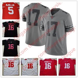 3138f6aca NCAA Ohio State Buckeyes  2 JK Dobbins 7 Dwayne Haskins 16 JT Barrett IV 18  Martell Black Red Stitched College Football Jerseys S-3XL