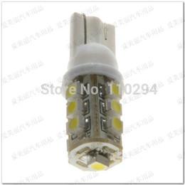 $enCountryForm.capitalKeyWord Australia - 100pcs T10 1210 13 Led 13SMD LED Light Bulb Auto Lamp Car Side Wedge Light Lamp