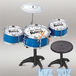 $enCountryForm.capitalKeyWord Australia - Children Musical Instruments Toy Kids Colorful Plastic Drum Drum Kit Set Music lovers Cultivation education music talent gift