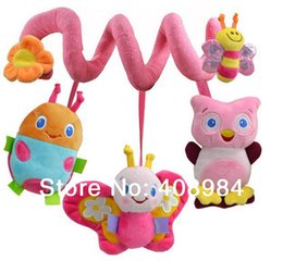 Chinese  infant Toys Baby crib revolves bed stroller playing toy car lathe hanging baby rattles Mobile manufacturers