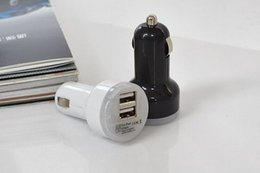hot tablets 2019 - Hot selling Mini Micro Dual USB Car Charger Adapter Vehicle Power Chargers Adapters For iPhone SamSung cell phones Table