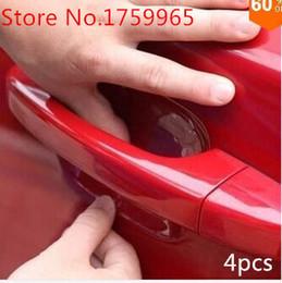 $enCountryForm.capitalKeyWord NZ - Mitsubishi Lancer EVO Montero Outlander Grandis Sport Eclipse 4pcs Car Door Handle Scratch Protector Film Protective Sticker