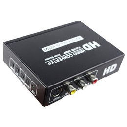 $enCountryForm.capitalKeyWord NZ - Freeshipping RCA CVBS AV Composite Video S-Video Audio to HDMI Converter Box 1080p AV2HDMI Converter S-Video to hdmi Adapter