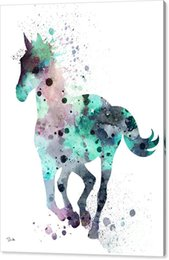 panel art work 2019 - resim tuval youme art work watercolor oil painting arts and canvas wall decoration 76x102 for horse 7 lucky no wrap - ro