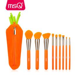 Orange lip online shopping - Msq New Arrival Makeup Brushes Set Powder Foundation Blending Lip Make Up Brush Kit Eyeshadow Concealer Cosmetic Brush Tool
