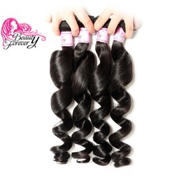 $enCountryForm.capitalKeyWord Australia - Beauty Forever Virgin Wholesale Malaysian Loose Wave Hair Bundles 16-26 inch Human Hair Weave 4 Bundles Natural Color Remy Hair Extension