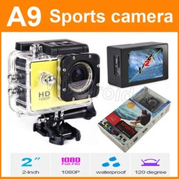 "$enCountryForm.capitalKeyWord Canada - A9 Waterproof Sports Camera 720P HD Action Camera Diving 1080P 30M 2.0"" 120° Mini DV DVR digital Camcorders 5pcs"