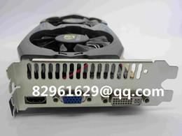 Gros-100% NOUVEAUTÉ 2015HOT nVidia GeForce GTX750ti 2 Go DDR5 haut de gamme placa de carte vidéo geforce jeu carte graphique Support DirectX11