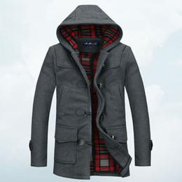 Hooded Grey Trench Coat Men Online | Hooded Grey Trench Coat Men ...