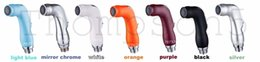 sprayer nozzles Canada - Hot Sale Bathroom Handheld ABS Shattaf Head Toilet Muslim Plastic Shower Nozzle Cleaning Wash Resin Diaper sprayer Gun TS15 Free Shipping