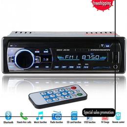 Опт 2019 HOT 12V автомобиля Bluetooth стерео FM-радио MP3-плеер Audio 5V зарядное устройство USB SD AUX Автоэлектроника Сабвуферы В-Даш 1 DIN Авторадио