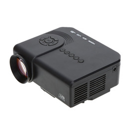 $enCountryForm.capitalKeyWord NZ - Home theater video LED Projector with USB SD VGA HDMI AV Port 800:1 200LM Portable Mini TV Projector with Remote Controller