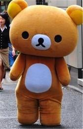 $enCountryForm.capitalKeyWord Canada - Wholesale Japanese San-X Rilakkuma Brown Bear Mascot Costumes Adult party dress Character